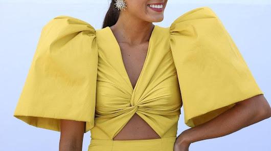 Isabel Peña, con el diseño de Loreto Martínez.