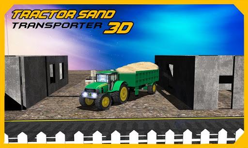 拖拉机沙转运3D