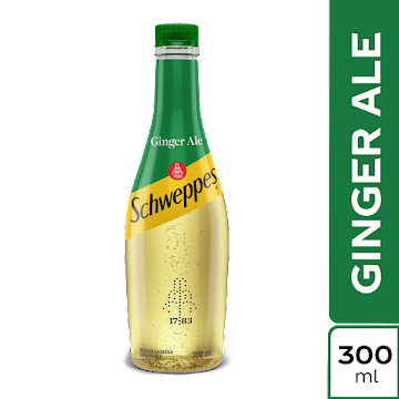 Gaseosa SCHWEPPES Ginger   x300Ml
