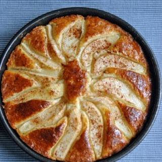 Amaretto-Glazed Pear Shortcake