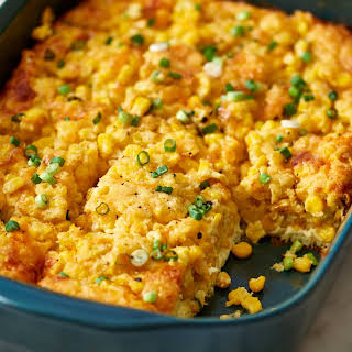 Baked Corn Pudding Casserole.