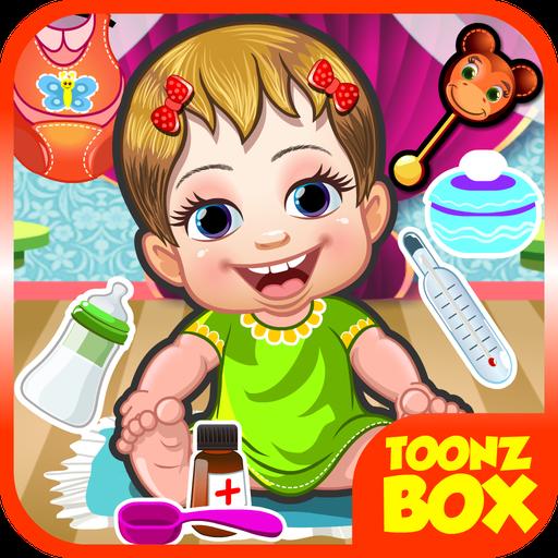 可愛的嬰兒護理 - 女孩小遊戲 休閒 App LOGO-硬是要APP
