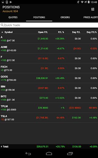 ETNA Trader Mobile screenshot 14
