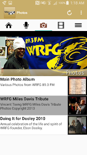 89.3 FM WRFG Atlanta- screenshot thumbnail