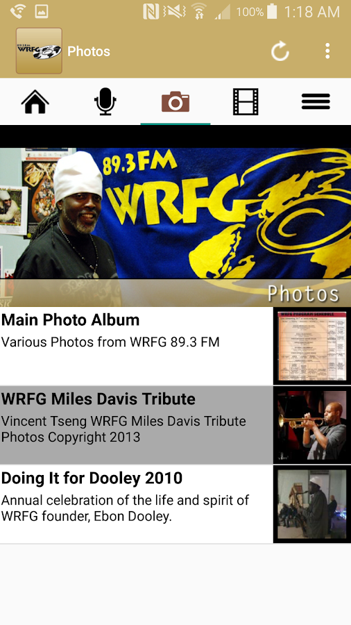89.3 FM WRFG Atlanta- screenshot