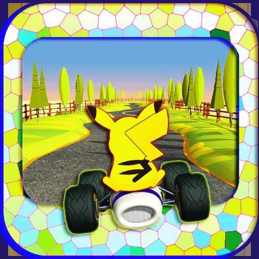 Pikachu Racing Car