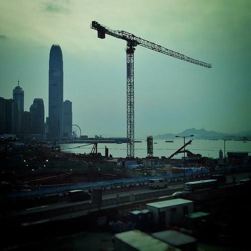 central, central wanchai bypass, hong kong, Wanchai Harbour Reclamation, 香港, 灣仔填海計劃