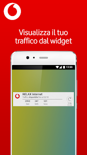 My Vodafone Italia- miniatura screenshot