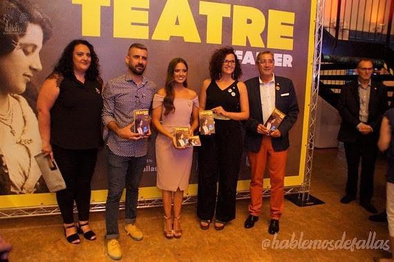 Presentación del teatre faller 2019