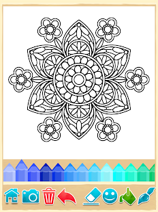 mandala coloring pages screenshot thumbnail - Cloring Games