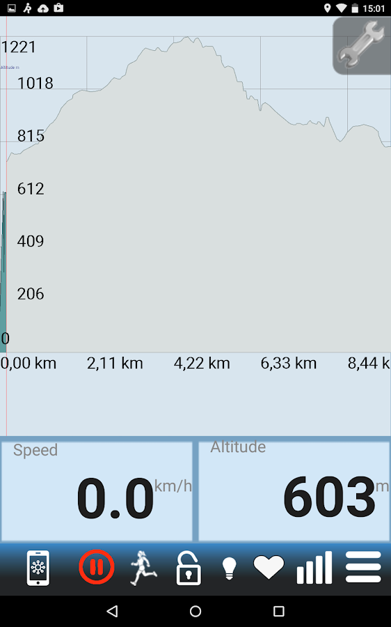 RunGPS Trainer Pro TRIAL- screenshot