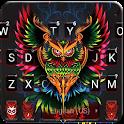 Devil Owl Keyboard Theme icon