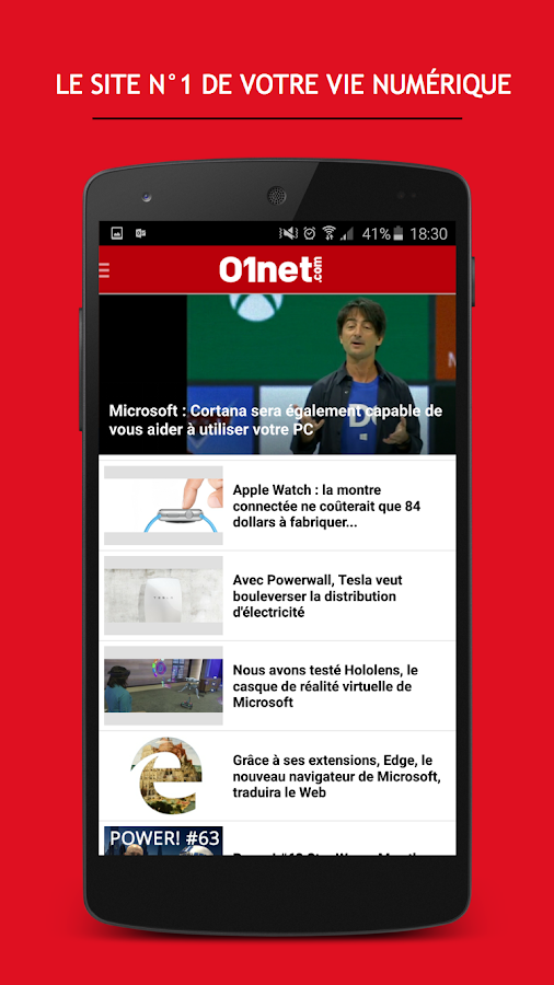 01net - screenshot