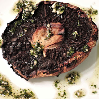Roasted Lemon and Garlic Portobello Steaks