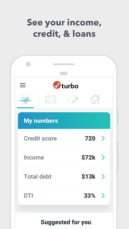 Turbo: Financial Score & Free Credit Report – (Android Apps