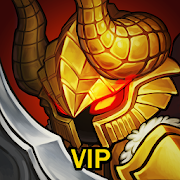 Download Game Game Infinity Heroes VIP : Idle RPG v2.6.1 MOD FOR ANDROID - X30 DAMAGE | GOD MODE APK Mod Free