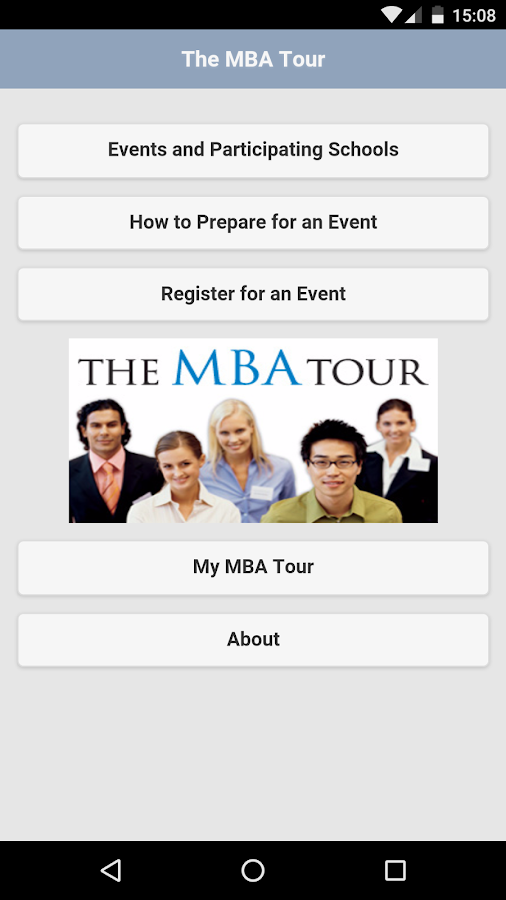 The MBA Tour- screenshot