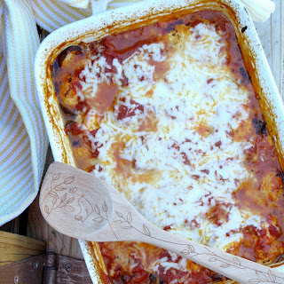 Garden Tomato, Eggplant and Mushroom Lasagna {noodless}