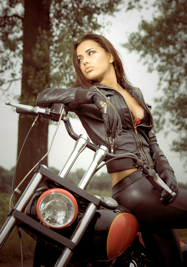 Motorcycle clothes by Pawel Wodnicki - People Fashion