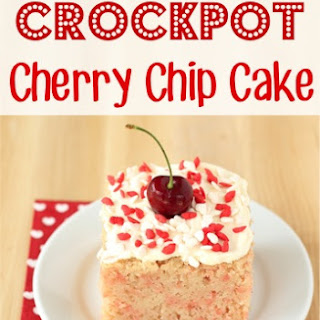 Crockpot Cherry Chip Cake Recipe!