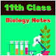 11th Class Biology Notes Download on Windows