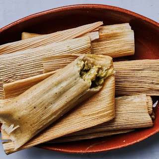 Chicken Tamales Verdes Recipe