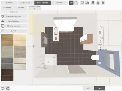 Laguna badplaner apps on google play for Wandfarben simulator