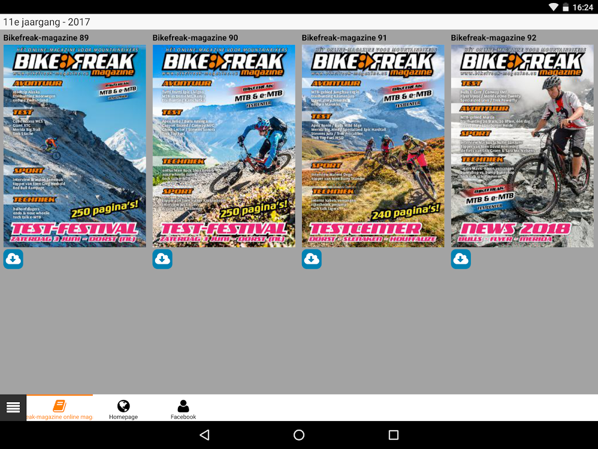 Bikefreak- screenshot