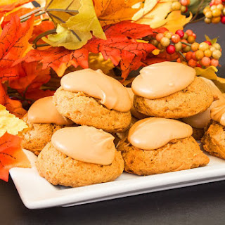 Pumpkin Cookies.
