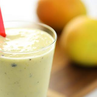 Mango & Passionfruit Smoothie.