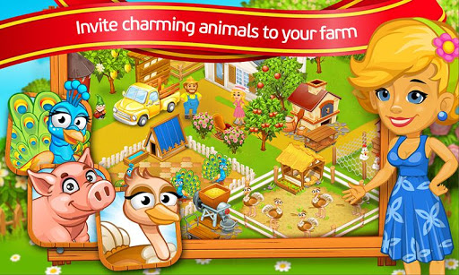 Farm Town: Cartoon Story 2.11 APK MOD screenshots 1