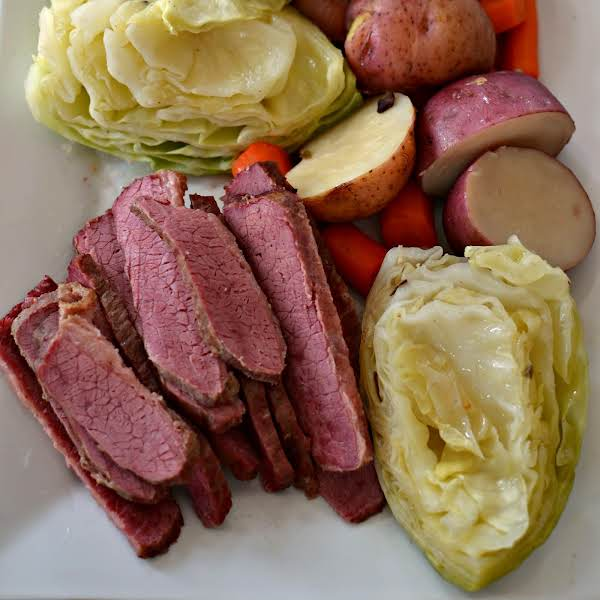 Traditional Corned Beef And Cabbage | Just A Pinch Recipes