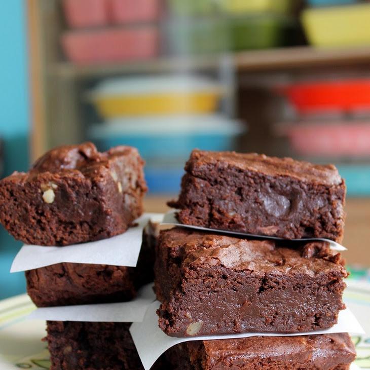 Mocha Teff Brownies