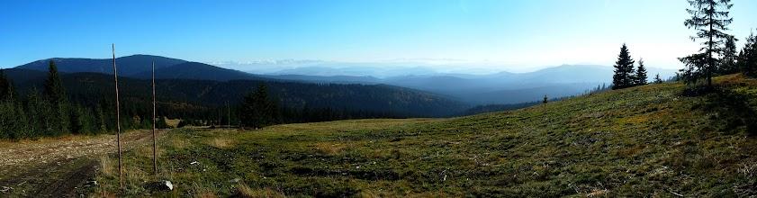 Photo: Panorama z Rysianki po raz drugi.
