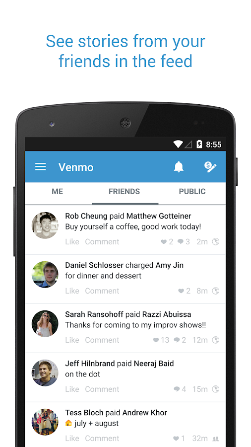 Venmo - screenshot