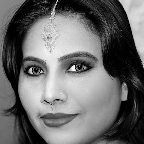 by Iqbal Kabir - Black & White Portraits & People