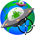 Shoot UFO icon