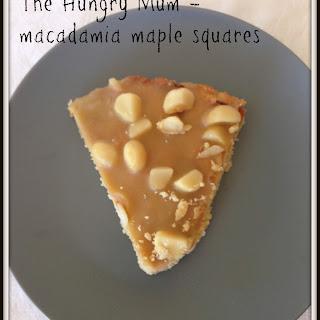 Martha Stewart'S Macadamia Maple Squares Recipe