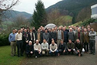 Photo: Thermodynamische Materialtheorien (Oberwolfach 2002)