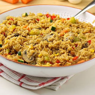 Vegetarian Fried Rice.
