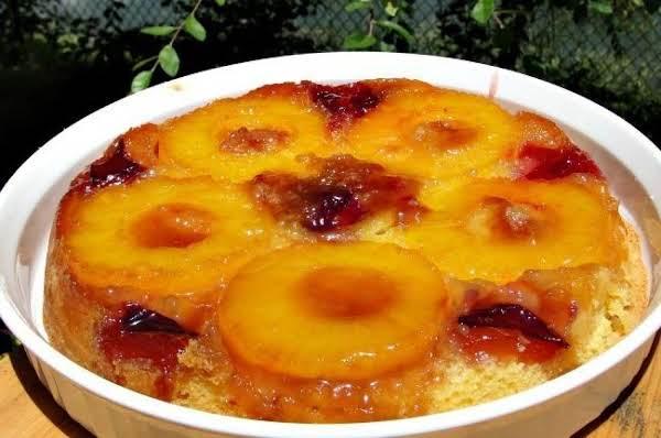 Azorean Pineapple Upside-down Cake Recipe