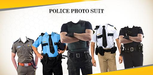 Police photo frame png pang