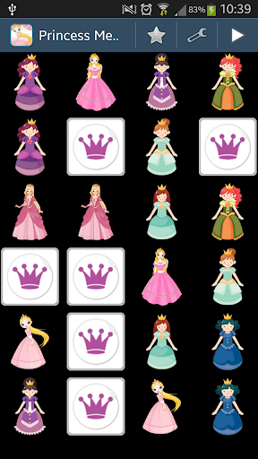 無料教育Appのプリンセスメモリーゲーム|記事Game