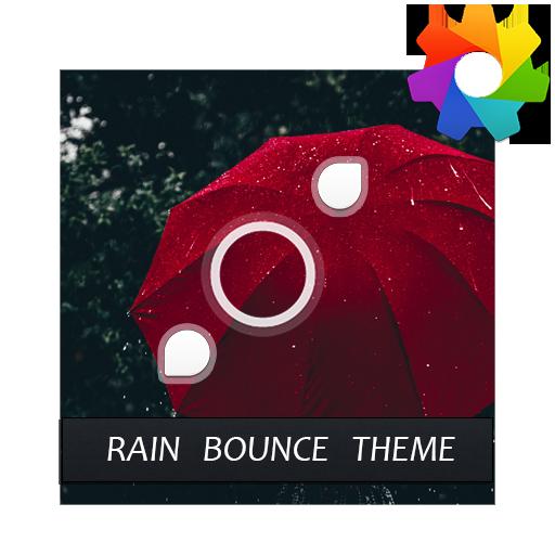 Rain Bounce Theme For Xperia