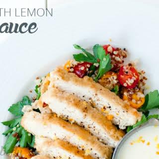 Chicken with Lemon Cream Sauce.