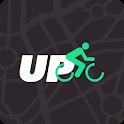 Upbike: Bike computer & Biking tracker for cycling icon