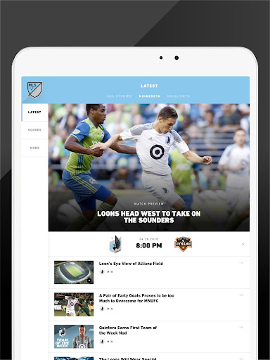 MLS: Live Soccer Scores & News 18.66.2 screenshots 8