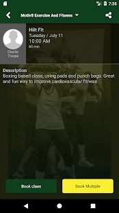 Motiv8 Exercise And Fitness- screenshot thumbnail