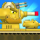 Merge Tanks 2: KV-44 Tank War Machines Idle Merger