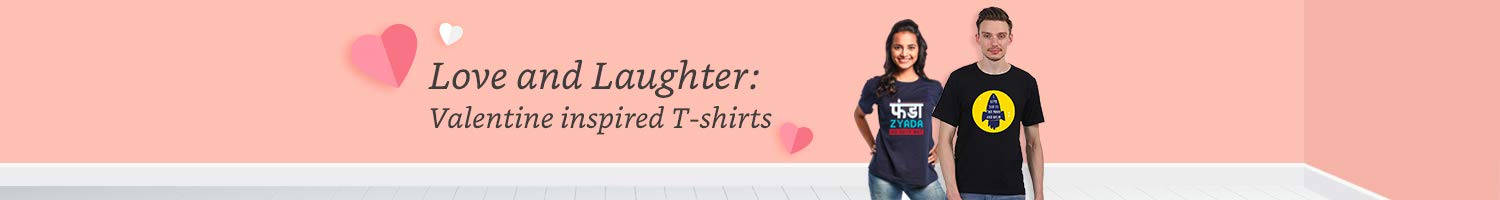 Get Up to 75% Off On Valentine's Day Templates T-Shirts For Couples